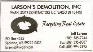 Larson's Demolition